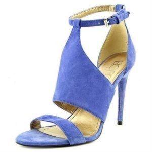 BCBG Shoes - BCBG PARIS DORRYX royal blue suede heel sandal 6